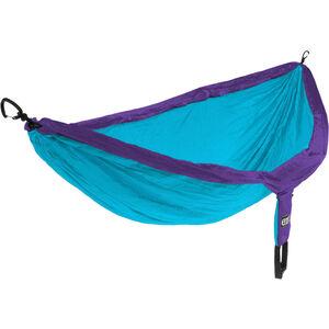 ENO Double Nest Hammock purple teal purple teal