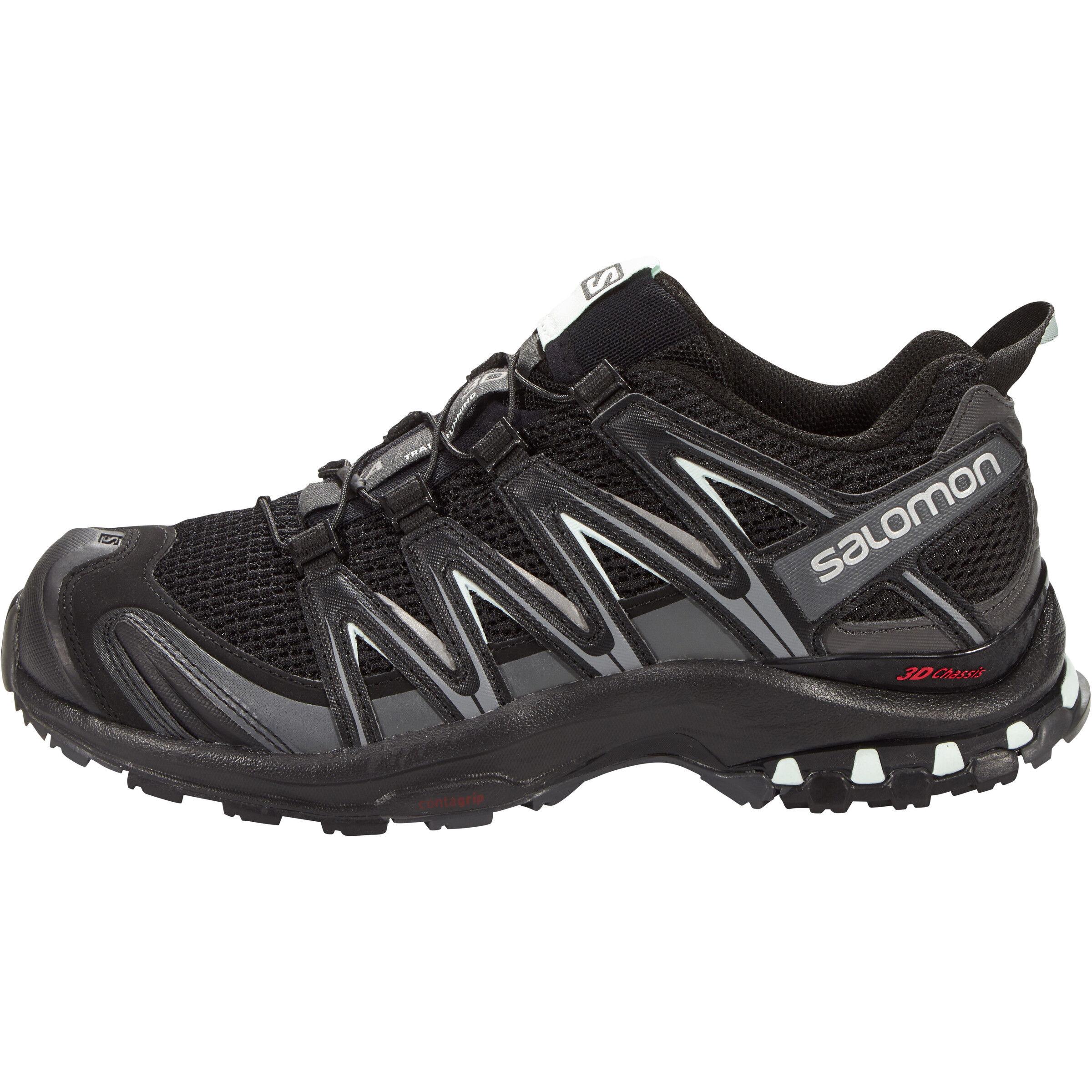 Salomon XA Pro 3D Shoes Damen blackmagnetfair aqua