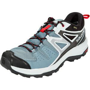 Salomon X Radiant GTX Shoes Herren stormy weather/quarry/barbados cherry stormy weather/quarry/barbados cherry