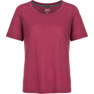 super.natural Essential Scoop T-Shirt Damen h10 anemone h10 anemone