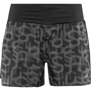 "asics 3,5"" Shorts Print Damen hex type performance black hex type performance black"