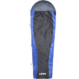 CAMPZ Trail Light Schlafsack black/blue black/blue