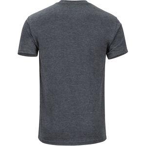 Marmot Chordata Kurzarm T-Shirt Herren charcoal heather charcoal heather