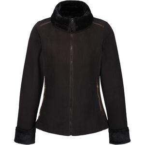 Regatta Benedetta Fleece Jacke Damen black/black black/black