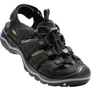 Keen Rialto II Sandals Herren black/gargoyle black/gargoyle