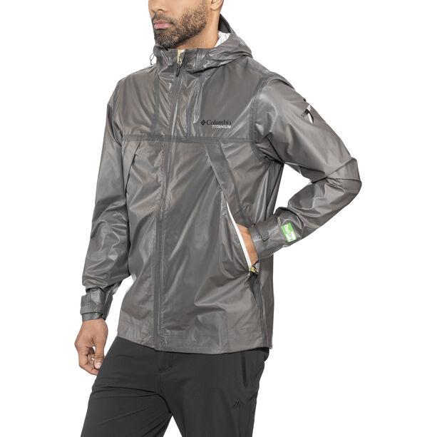 Columbia OutDry Ex ECO Tech Shell Jacket Herren bamboo charcoal