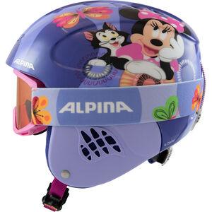 Alpina Carat Set Disney Helm Kinder Minnie Mouse Minnie Mouse