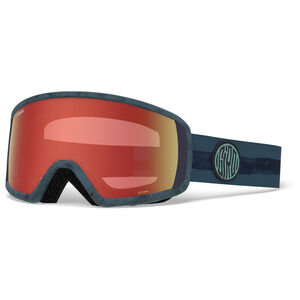 Giro Scan Snow Goggles storm dye line w amber scarlet storm dye line w amber scarlet