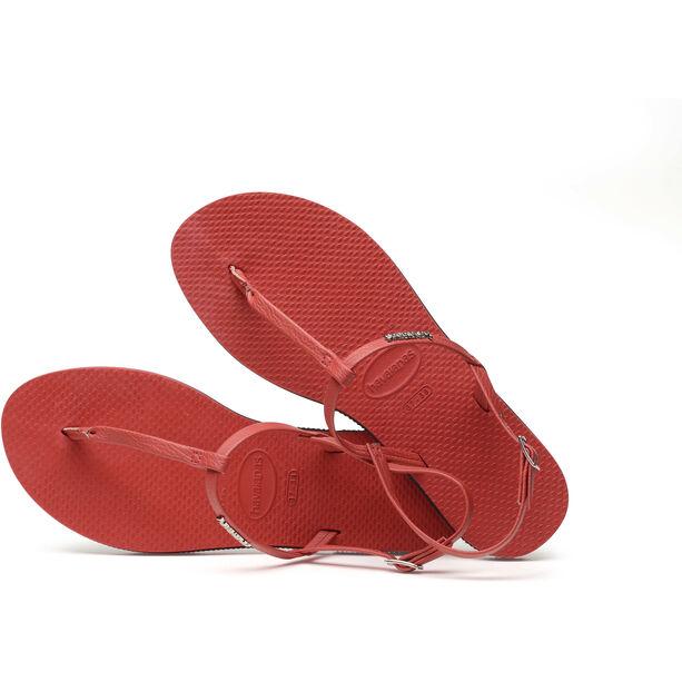havaianas You Riviera Sandals Damen ruby red