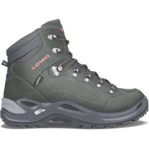 Lowa Renegade GTX Mid Shoes Damen anthracite/mandarine anthracite/mandarine