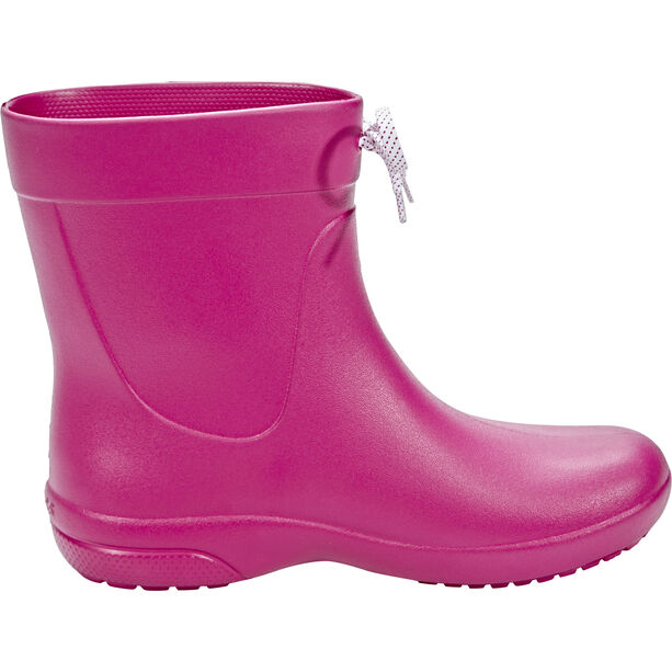 Crocs Freesail Shorty Rain Boots Damen berry