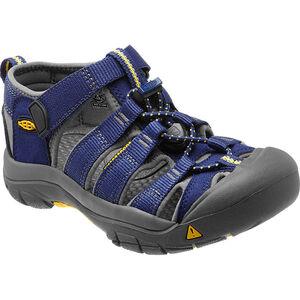 Keen Newport H2 Sandals Jugend blue depths/gargoyle blue depths/gargoyle