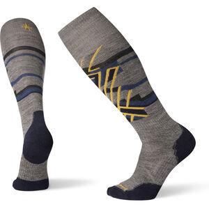 Smartwool PhD Ski Medium Pattern Socken medium gray medium gray