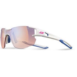 Julbo Aerolite Zebra Light Sunglasses Damen white/blue white/blue