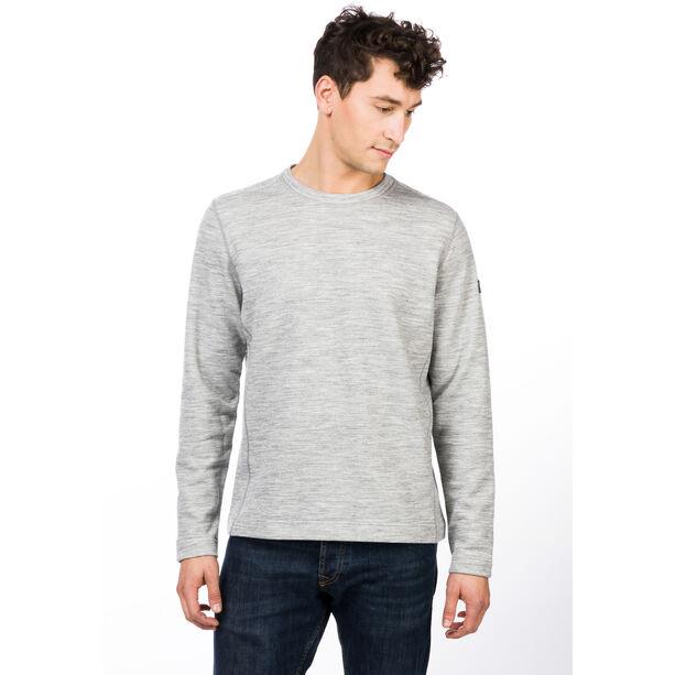super.natural Knit Sweater Herren ash melange