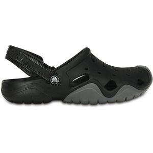Crocs Swiftwater Clogs Herren black/charcoal black/charcoal