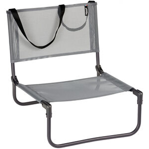 Lafuma Mobilier CB Niedriger Stuhl Texplast titane/silex titane/silex