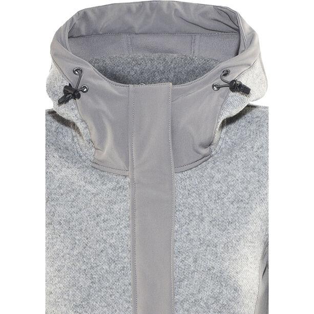 Bergans Flora Hybrid Coat Damen solid grey