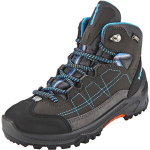 Lowa Approach GTX Mid Shoes Kinder anthracite/turquoise anthracite/turquoise