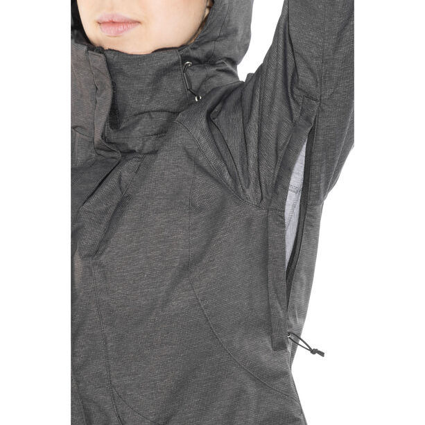 The North Face Inlux Insulated Jacket Damen tnf black heather