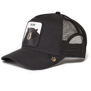 Goorin Bros. Black Bear Trucker Cap black black