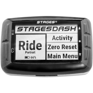 Stages Cycling Dash L10 GPS Fahrradcomputer black black