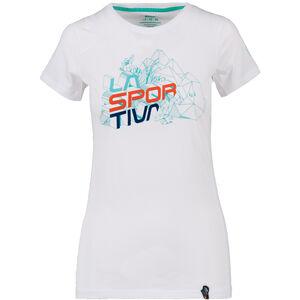 La Sportiva Cubic T-Shirt Damen white white