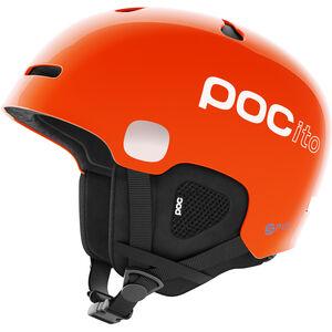 POC POCito Auric Cut Spin Helm Kinder fluorescent orange fluorescent orange