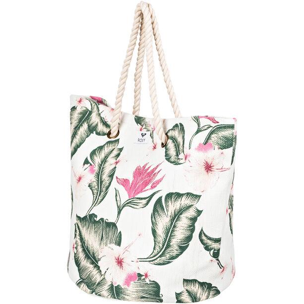 Roxy Sunseeker Beach Bag marshmallow tropical love