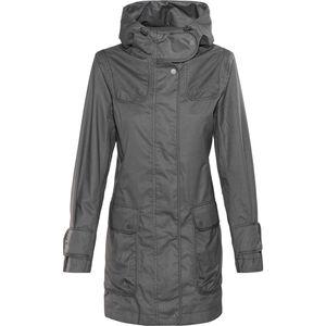 Finside Joutsen Zip-In Jacket Damen graphit melange graphit melange
