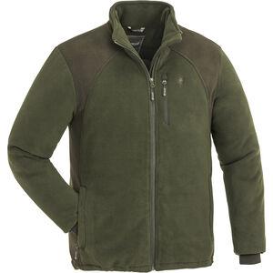 Pinewood Harrie Fleece Jacke Herren green/suedebrown green/suedebrown