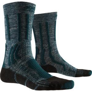 X-Socks Trek X Linen Socks Herren forest green/opal black forest green/opal black