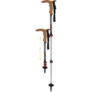 Komperdell Walker Antishock Powerlock Poles grey grey
