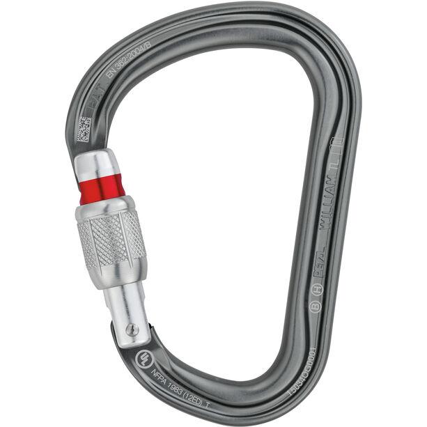 Petzl William Karabiner Screw-Lock