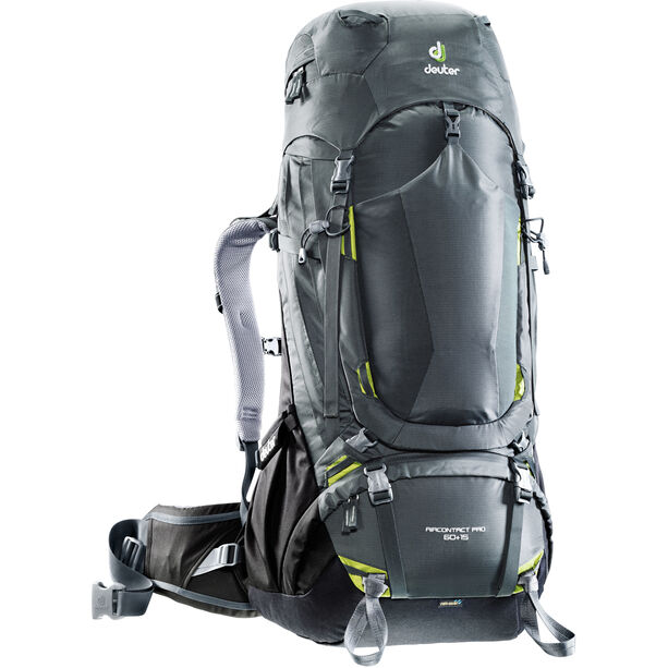 Deuter Aircontact Pro 60 + 15 Backpack graphite-black