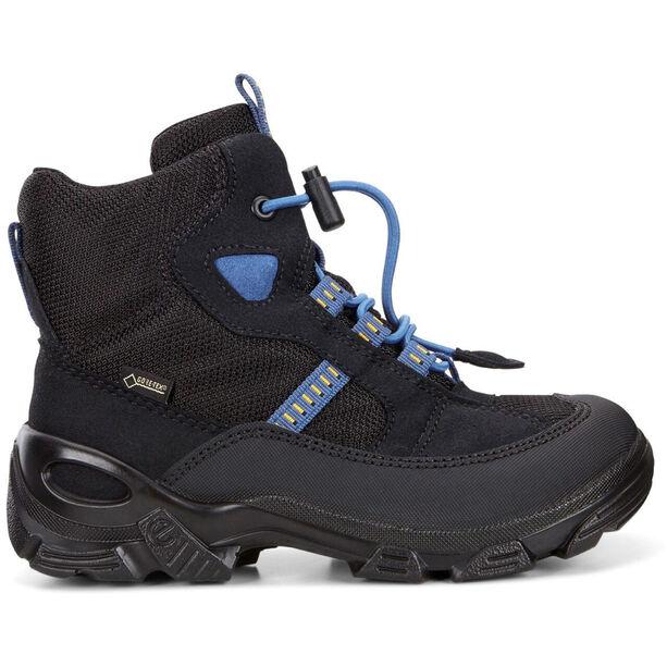 ECCO Snowboarder Shoes Kinder black/black/cobalt