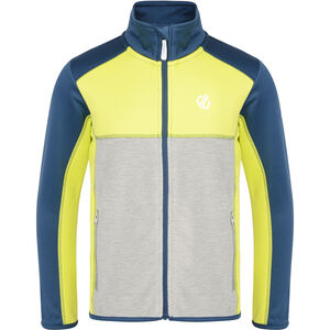 Dare 2b Exceed Core Stretch Jacke Kinder admiral blue/citron lime admiral blue/citron lime