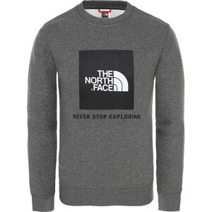 The North Face Box Rundhalsshirt Jungs tnf medium grey heather tnf medium grey heather