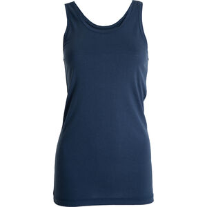 Tufte Wear Light Wool Tank Top Damen insignia blue insignia blue