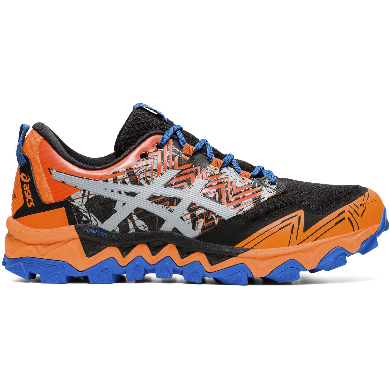 asics Gel Fujitrabuco 8 G TX Schuhe Herren shocking orangesheet rock