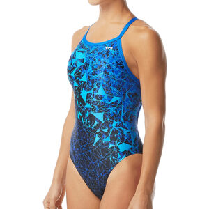 TYR Orion Diamondfit Badeanzug Damen blue blue