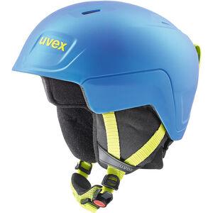 UVEX Manic Pro Helm Kinder blue-lime met mat blue-lime met mat