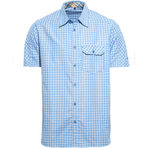 axant Alps Travel Shirt Agion Active Herren blue check blue check