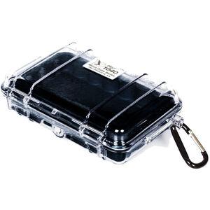 Peli MicroCase 1040 klar/schwarz klar/schwarz