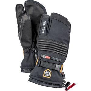 Hestra All Mountain CZone 3-Finger Handschuhe black black