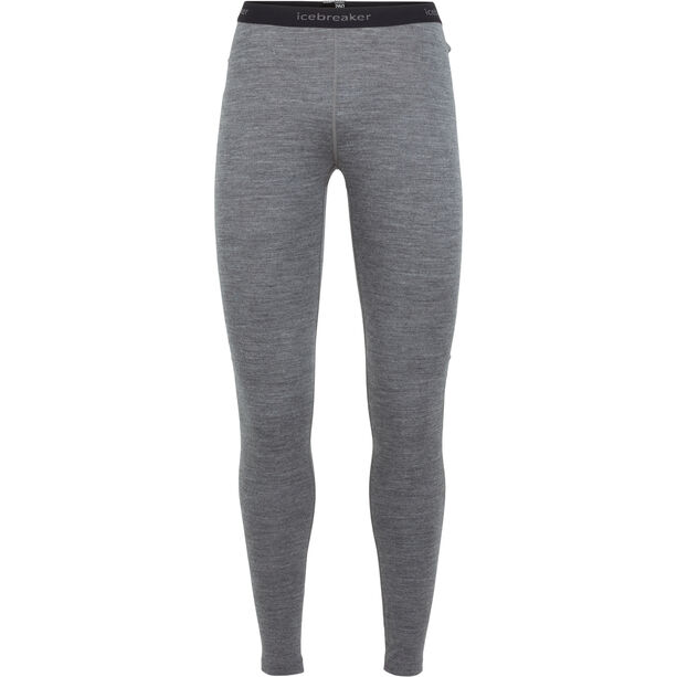 Icebreaker 260 Tech Leggings Damen gritstone heather