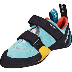 Scarpa Force V WMN Climbing Shoes Damen icefall/madarin red icefall/madarin red