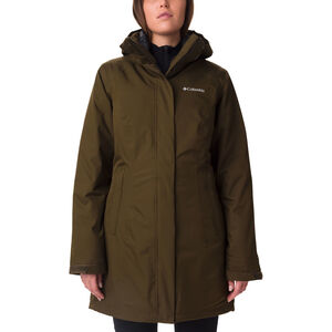 Columbia Salcantay Long Interchange Jacket Damen olive green olive green