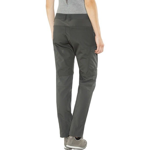 Lundhags Nybo Zip-Off Pants Damen charcoal