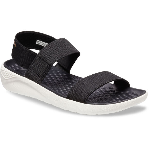 Crocs LiteRide Sandals Damen black/white